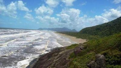 Praia da Jureia.