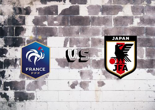 France vs Japan Resumen