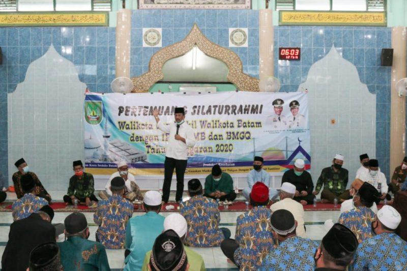 Di Atas Bukit Tepat di Depan Bundaran Bandara, Walikota Batam Muhammad Rudi Akan Bangun Masjid