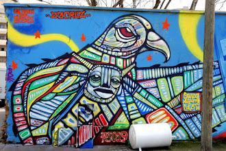 Sunday Street Art : dAcRuZ et Marko 93 - rue Germaine Taillefer - Paris 19