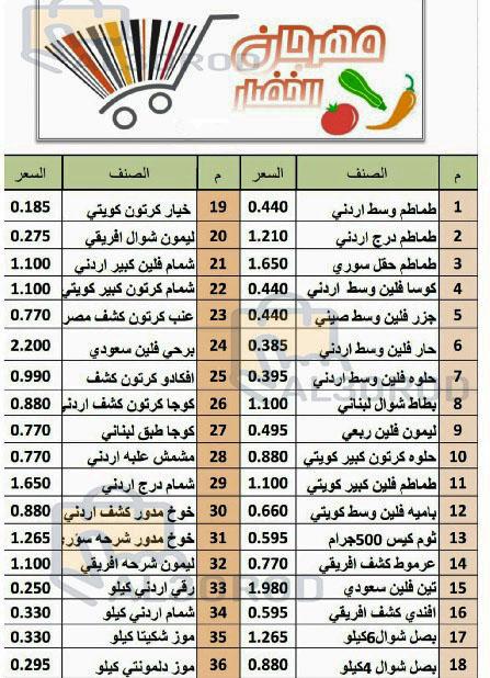 عروض جمعية القيروان التعاونية الكويت فقط الثلاثاء 23-7-2019