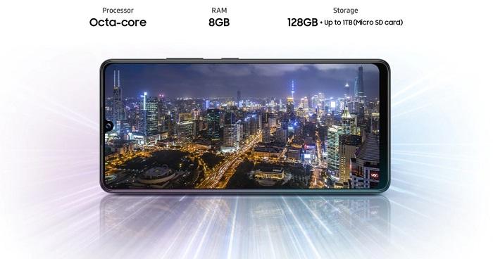 Samsung Galaxy A42 5G RAM Storage Specs