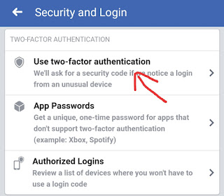 Facebook Account Me Two Step Verification Enable Kaise Kare