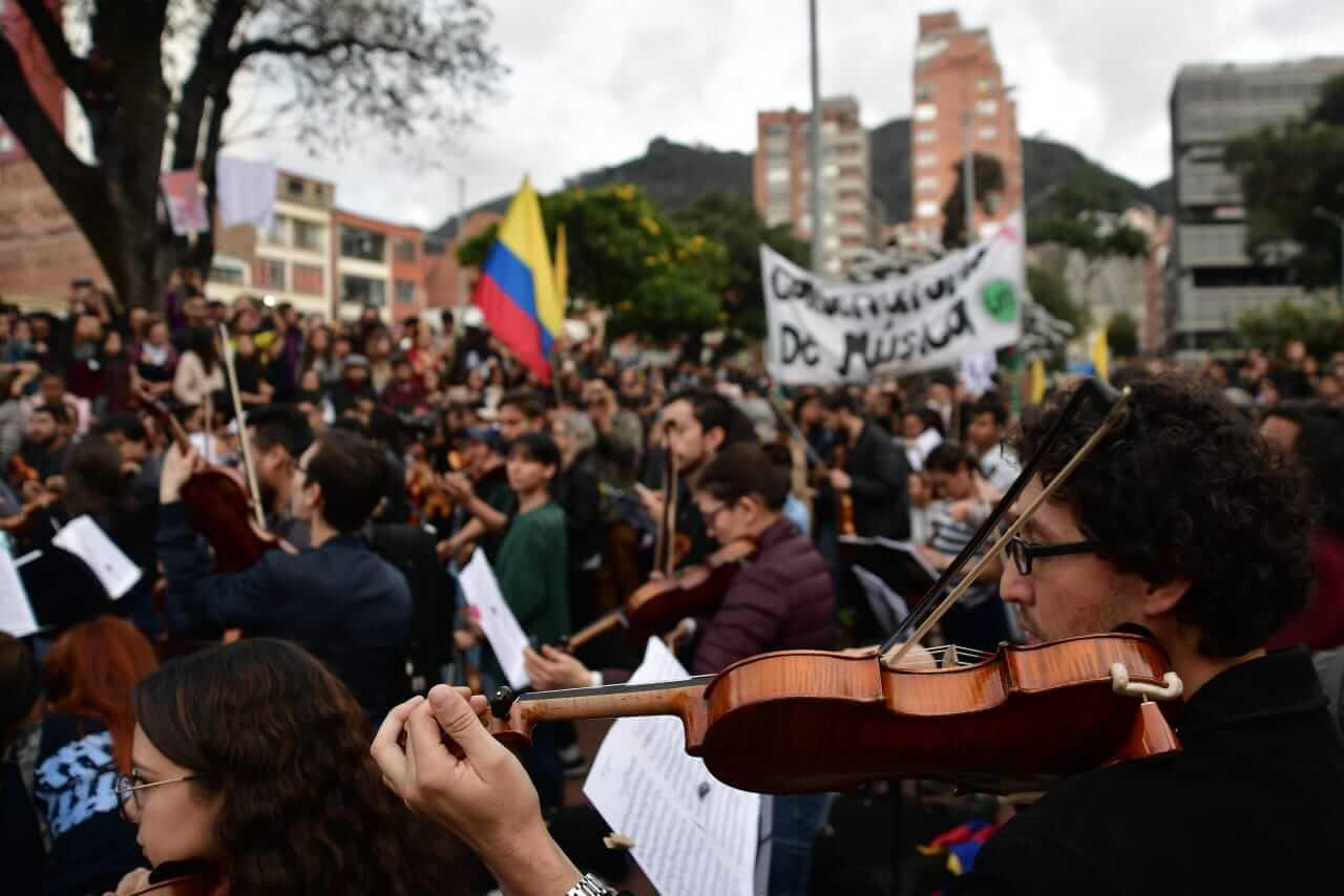 Filarmónica popular rendirá homenaje a la #GuardiaIndígena este jueves 5 de diciembre
