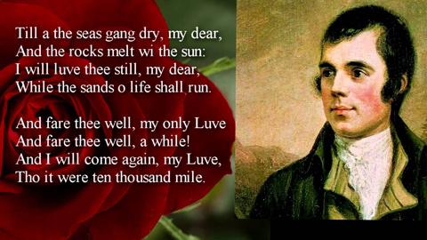 Irish Massachusetts New England Celebrates Scottish Poet