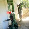 Satgas TMMD Kodim 1424/Sinjai, Utamakan Keindahan dan Kebersihan Masjid Nurul Ardi Dusun Bulo