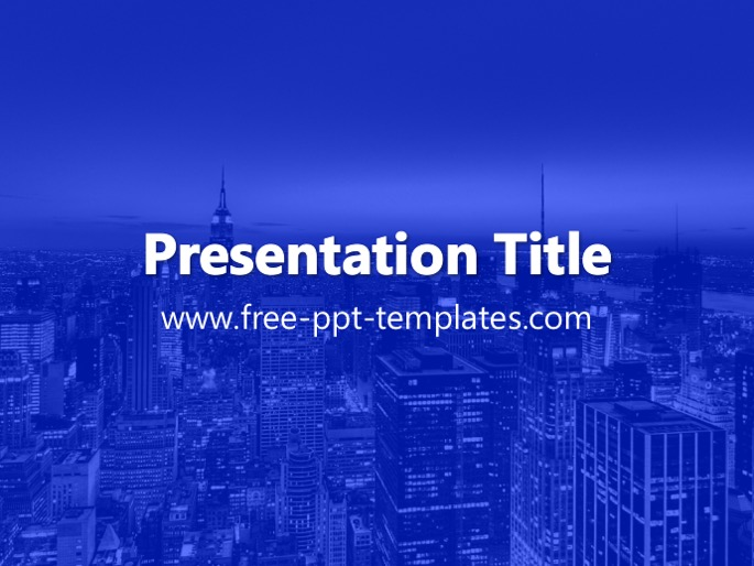 New york ppt template toneelgroepblik Image collections