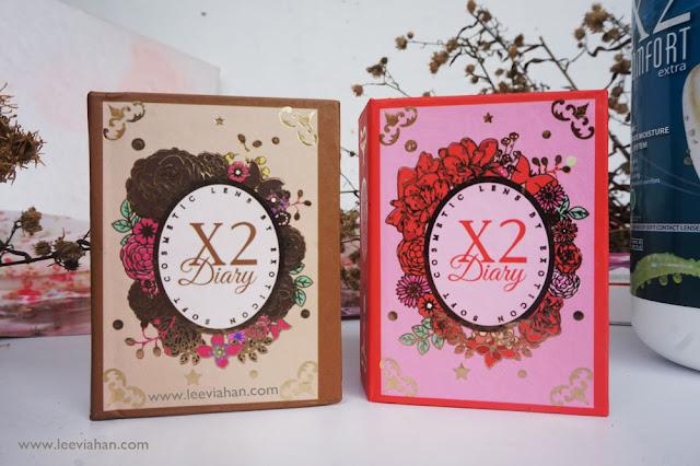 softlens, X2 Softlens, My x2 diary, lensa kontak