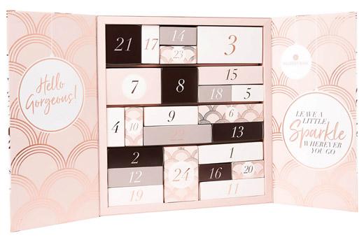 glossybox adventny kalendár