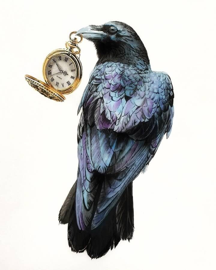 02-Crow-in-charge-of-time-Anna-www-designstack-co