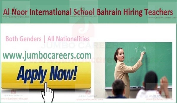 teaching jobs uae, teacher jobs bahrian