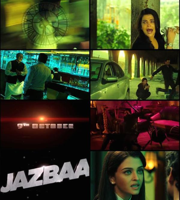 Jazbaa Official Trailer 720p HD Download