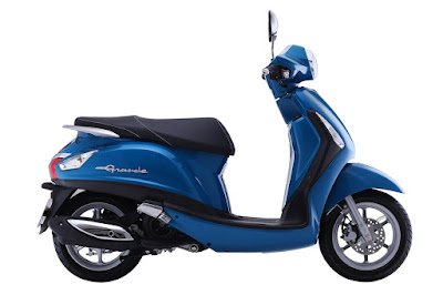 New 2016 Yamaha Nozza Grande 125cc Scooterblue edition Hd image