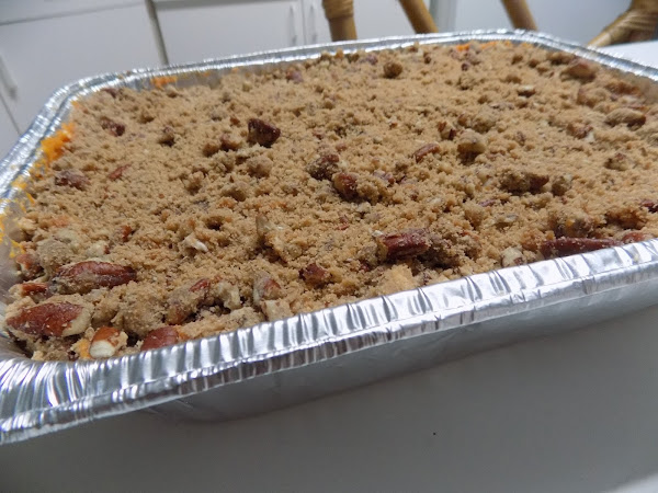 My favorite Thanksgiving Side!  Sweet Potato Casserole