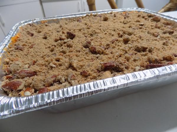 My favorite Thanksgiving Side!  Sweet Potato Casserole