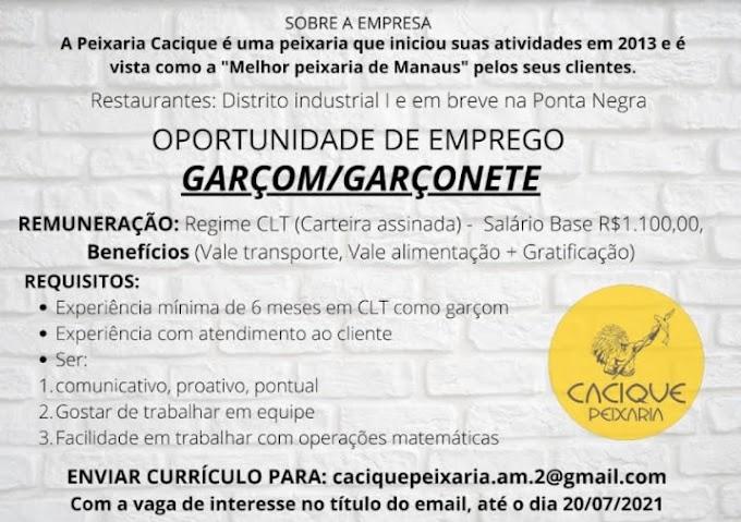 GARÇOM/GARÇONETE
