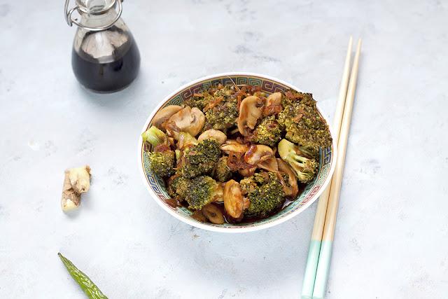jak zrobic stir-fry z brokula
