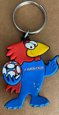 France 1998 Footix - Keyring