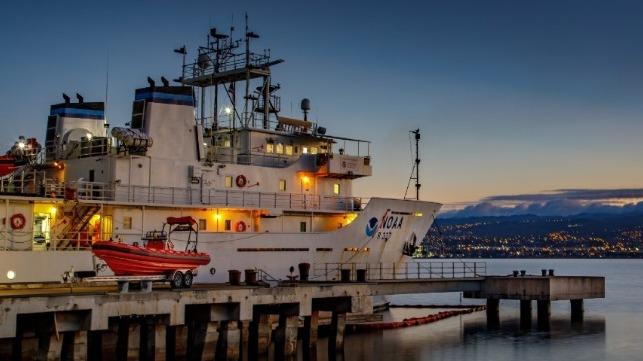 NOAA adjudica contrato de $180 millones de dólares para dos nuevos buques de investigación
