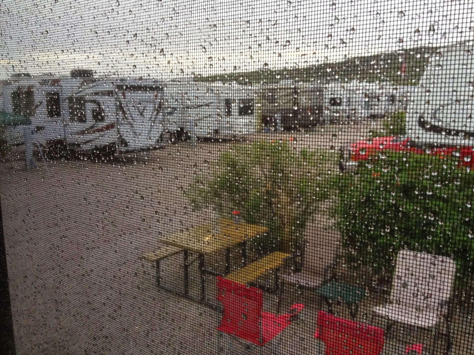 Rainy day in Ajo