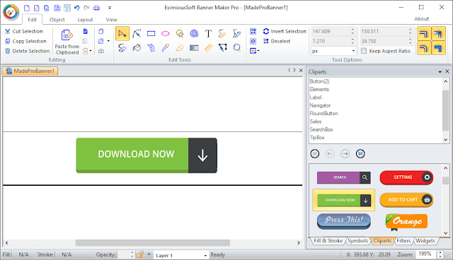 Screenshot EximiousSoft Banner Maker Pro 3.26 Full Version