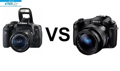مقارنة بين كاميرا كانون canon و سوني sony ايهما افضل كاميرا كانون canon و كاميرا سوني sony ماهو افضل كاميرا كانون canon أوسون sony مقارنة بين أداء كاميرا سوني sony و كاميرا كانون canon