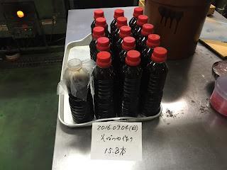 そばつゆ作り(2016.09.04)