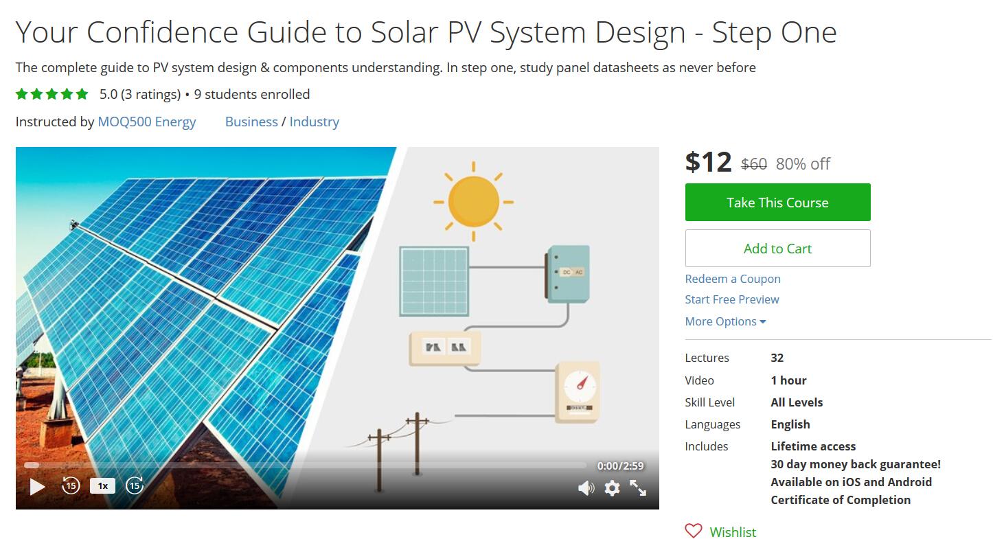 Pv System: Pv System Design