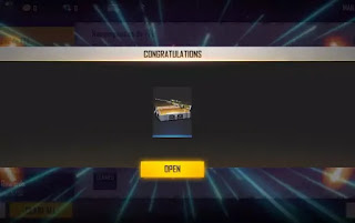 Free Fire redeem code for 14th Feb get Justice Fighter Weapon Loot Crate