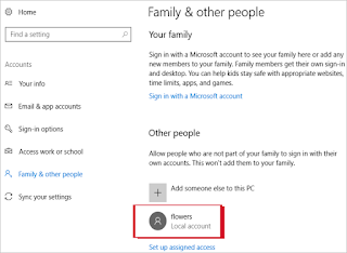 كيفية إنشاء حساب في Windows 10