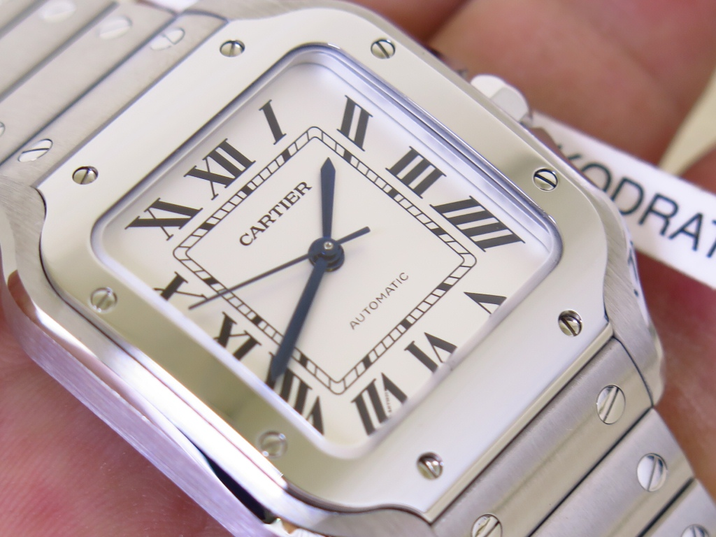 CARTIER DE SANTOS MEDIUM WSSA0029 Cal.1847MC 35x42mm