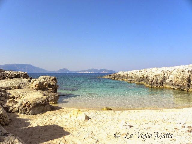 spiaggia di Alaties a Cefalonia