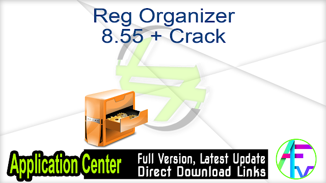 Reg Organizer 8.55 + Crack