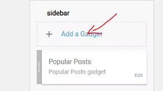 add stylish running text in blogger