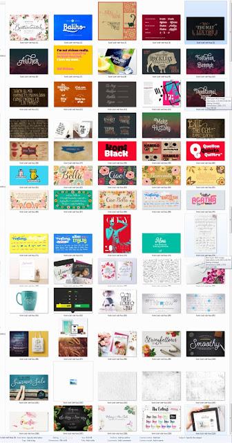 Download 138 Bộ Fonts Full iCiel việt hóa đẳng cấp thiết kế