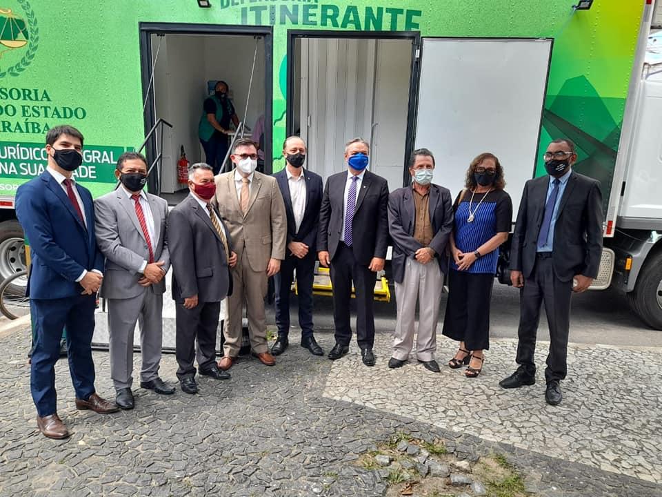 Raniery Paulino comemora instalação da Defensoria Pública da PB em Guarabira