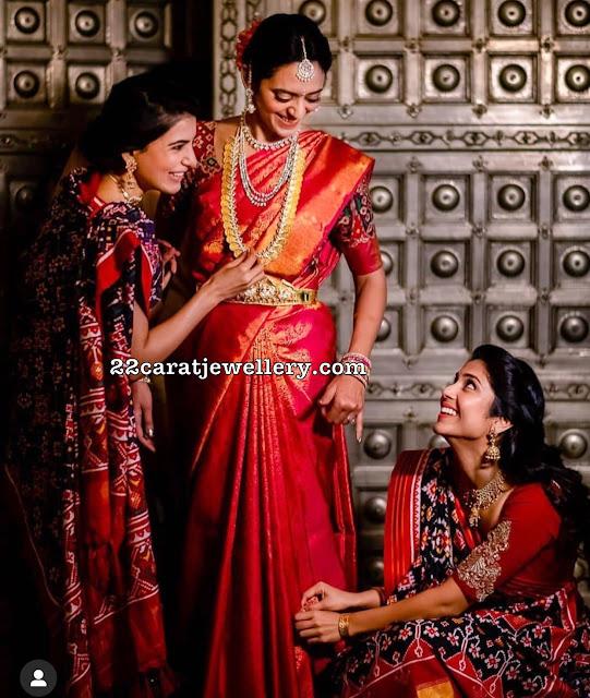 Venkatesh Daughter Aashritha in Kasu Mala
