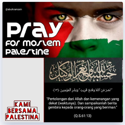 Twibbon Bersama Palestina 2021