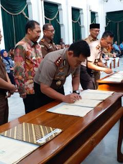 Pemda Kota Cirebon Tandatangani Kerja Sama APIP-APH