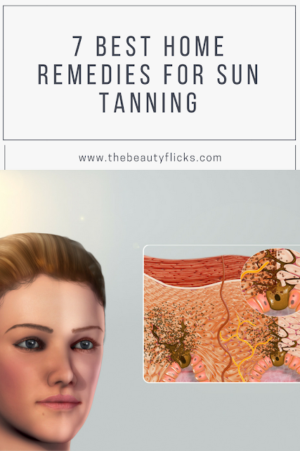 7 Best home remedies for sun tanning