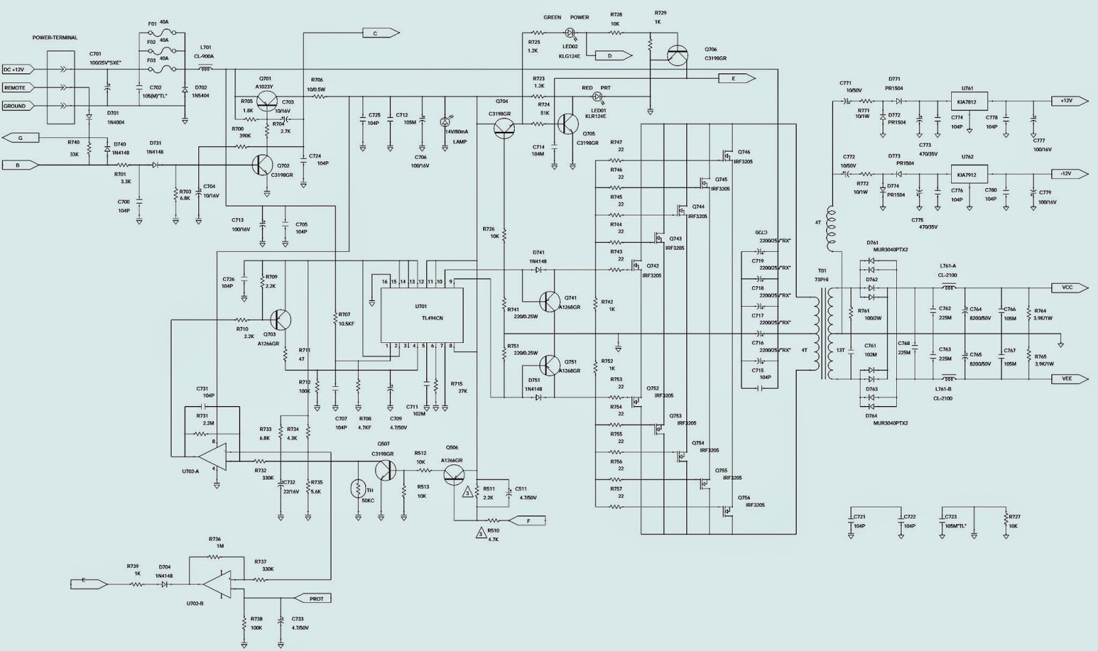 on jbl prv 175 wiring diagram