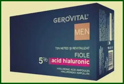 pareri forumuri fiole cu acid hialuronic gerovital men