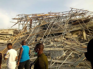 News: 3 Found Dead, Many Injured As 8 Storey Building Collapsed In Owerri