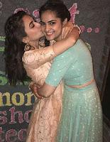 kriti kharbanda with sister ishita kharbanda