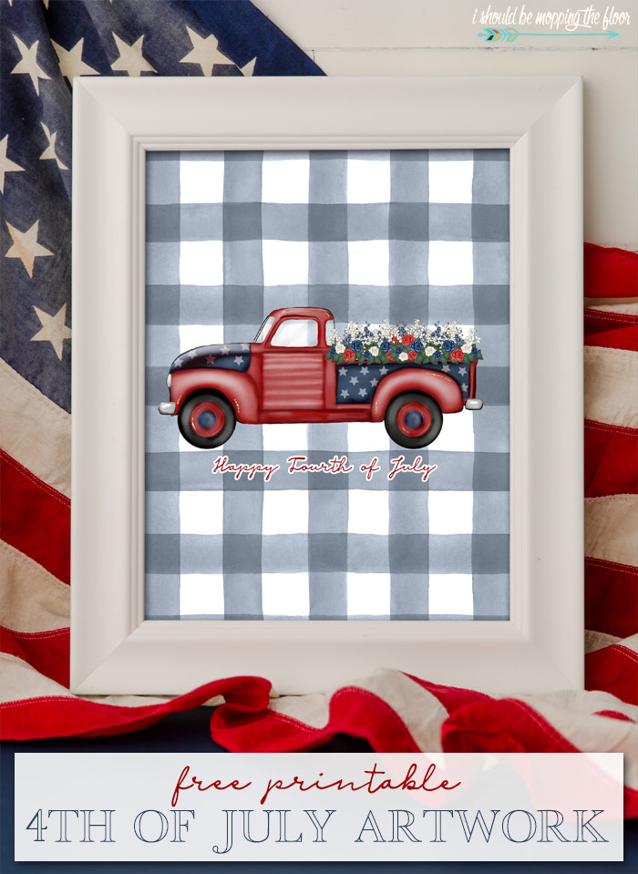 Free Printable 4th of July Art