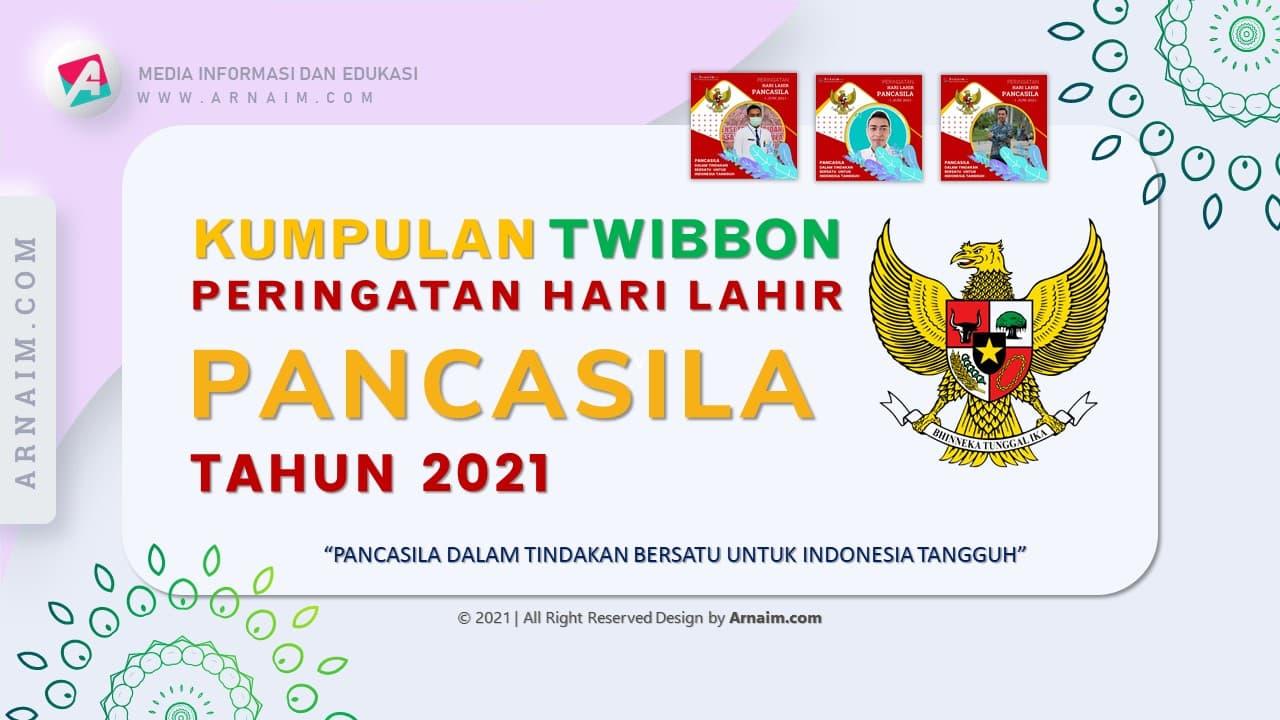 Arnaim.com - Kumpulan Twibbon Elegan Hari Lahir Pancasila