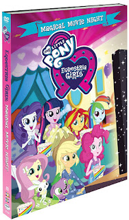 My Little Pony: Equestria Girls: Magical Movie Night DVD
