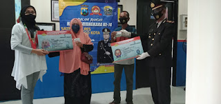 Hari Bhayangkara Ke 74,  SatLantas Probolinggo Kota Gratiskan Perpanjangan SIM