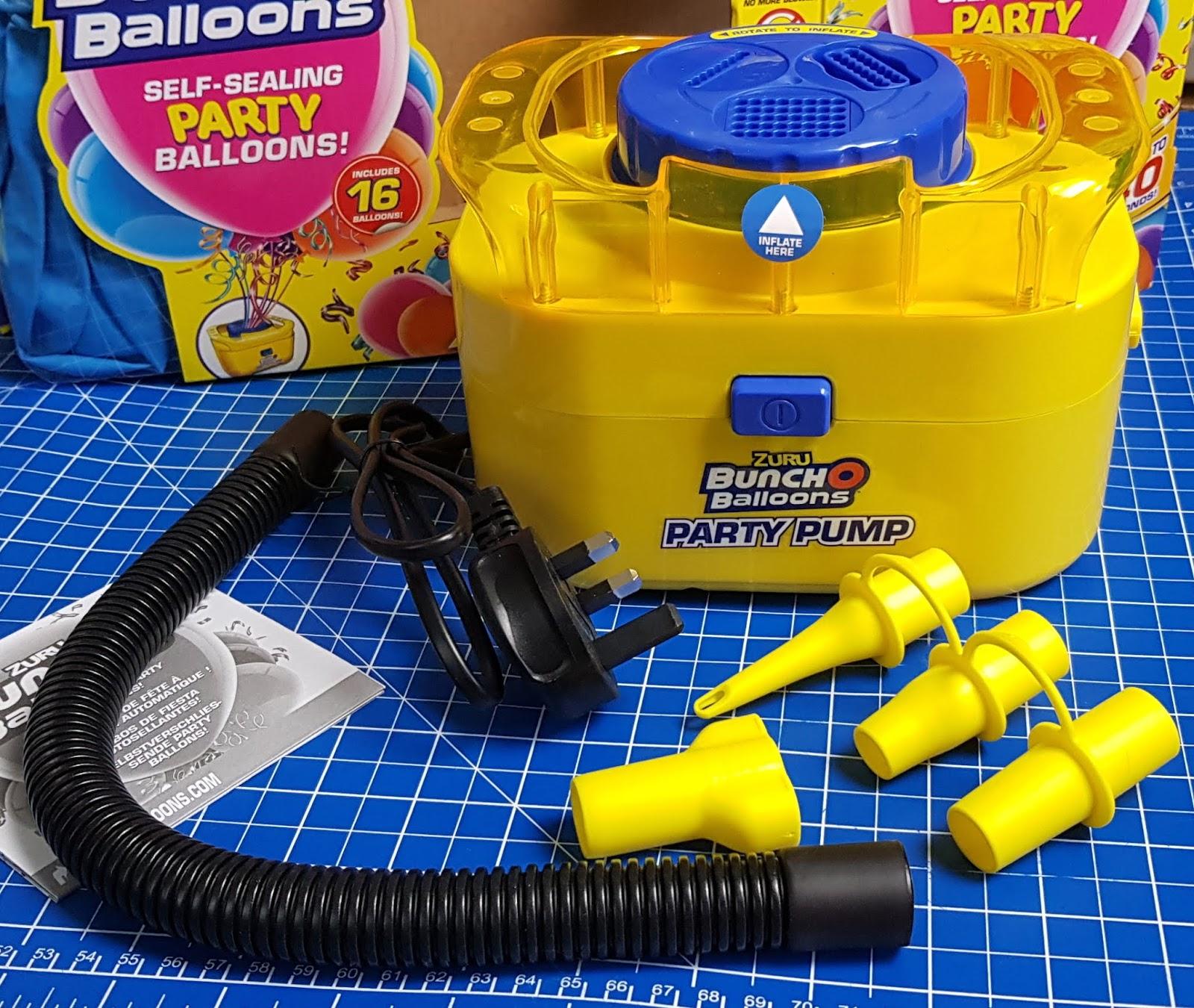ZURU Bunch O Balloons Self Sealing Party Pump Electronic 16 Balloon Starter Pack