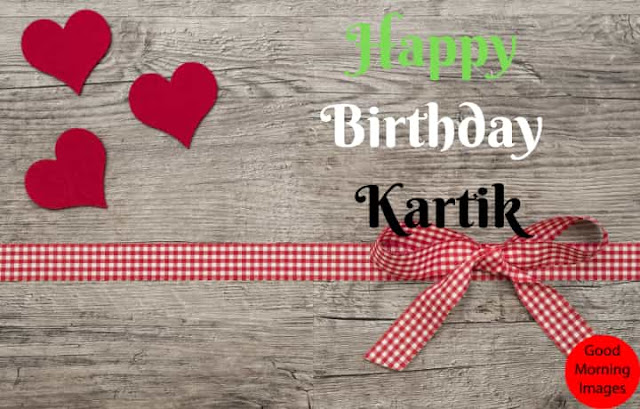 Birthday images with name kartik